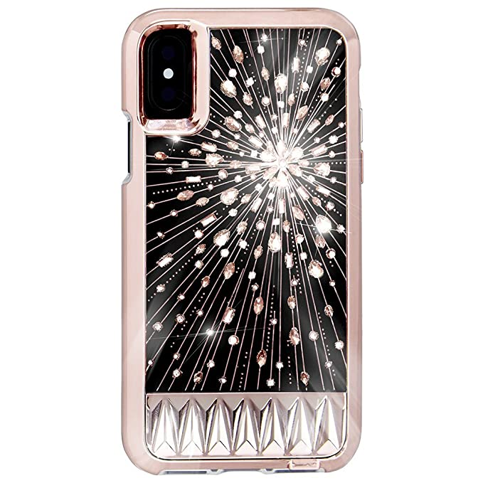 super popular 7d061 5d617 Case-Mate iPhone X Case - Luminescent - Light Up Crystals - Protective  Design for Apple iPhone 10 - Luminescent