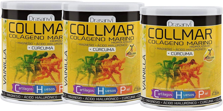 COLLMAR MAGNESIO CURCUMA VAINILLA 300G DRASANVI (Pack 3u.): Amazon ...