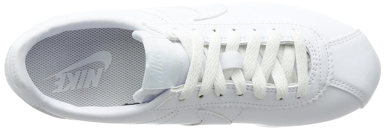 NIKE Damen Classic Cortez (Weiß Leder Laufschuhe, Weiß (Weiß Cortez 102) 9cb632