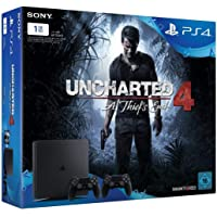 PlayStation 4 - Slim 1TB + Uncharted 4 + 2 Controllers DualShock 4 Controller