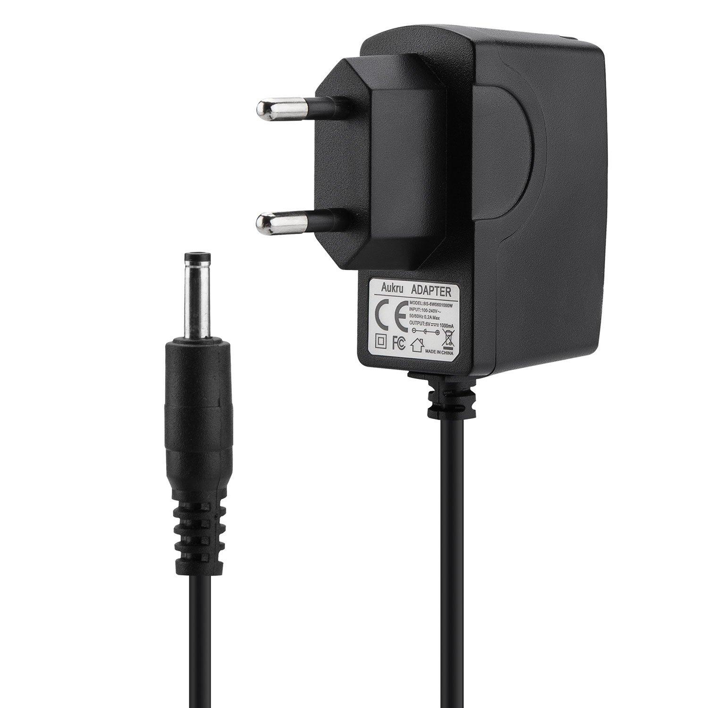 Aukru Caricabatterie 6V Alimentatore Per Philips Avent SCD501/00 Baby Monitor EU-6V1A-SCD501B