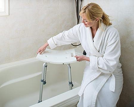 Amazon.com: Dr Kays - Banco de ducha con altura ajustable ...