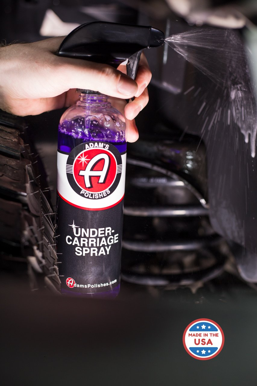Adam's Invisible Undercarriage Spray - Quick and Easy to Use - Turn Your Wheel Wells Invisible - Leaves a Black Satin Finish (5 gallon) by Adam's Polishes (Image #2)