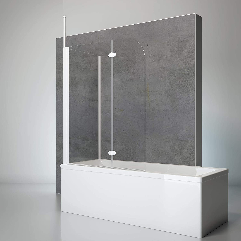 Schulte 4060991021749 comodidad Mampara para bañera, Alpin de ...