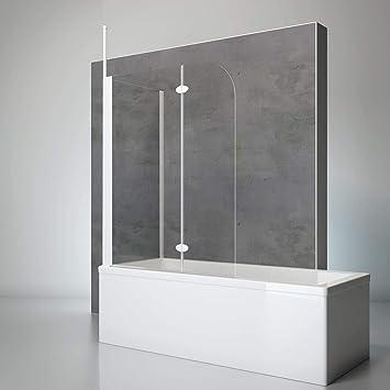 Schulte 4060991021503 comodidad Mampara para bañera, Alpin de ...
