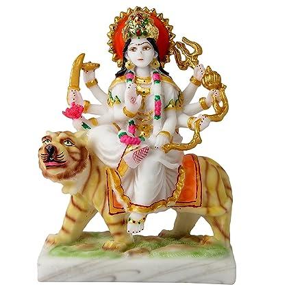 4b67fb8233a Buy Divine Gifts Maa Durga Marble Idols