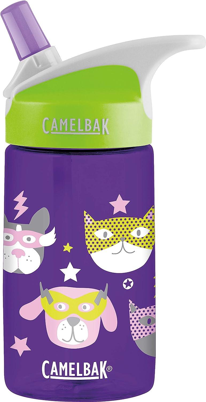Tritan Porpora Copoliestere CamelBak Eddy Kids Borraccia 400 ml Uso Quotidiano Verde