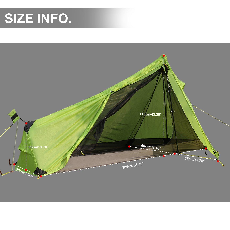 c3d880fe885a97 Andake Ultralight Tent