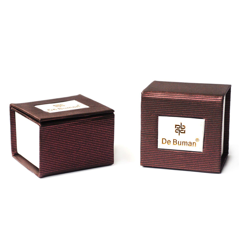 De Buman Sterling Silver Green Heart Enamel Charm Bead-fits Charm Bracelets