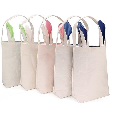 58d43d50fc TONOS Huge Saving-Easter Baskets for Girls Boys Easter Egg Hunts Party Bag  for Kids