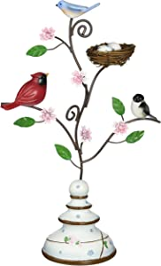 Peace, Love and Birds by Pavilion Nature's Beauty Bird Finial, 13-1/2-Inch