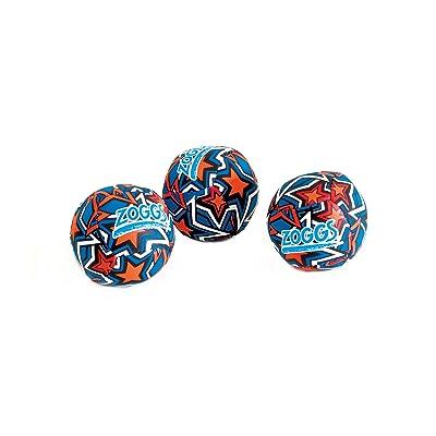 Zoggs Kids Water Friendly Splash Neoprene Covered Balls - Orange/blue With Star: Sports & Outdoors