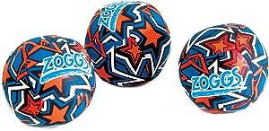 Zoggs Kids Water Friendly Splash Neoprene Covered Balls - Orange/blue With Star