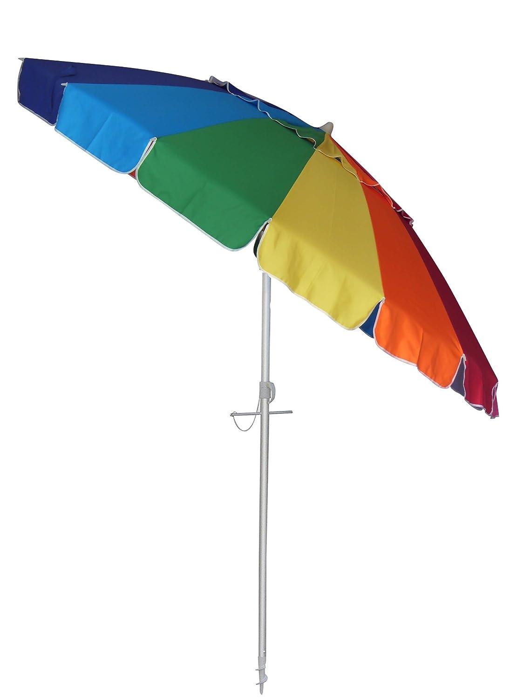 Bayside21 – 8 Rainbow Tilt Beach Market Umbrella