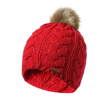 Vovotrade Hombre Mujer Baggy Knit Winter Warm Wool Ski Beanie ...