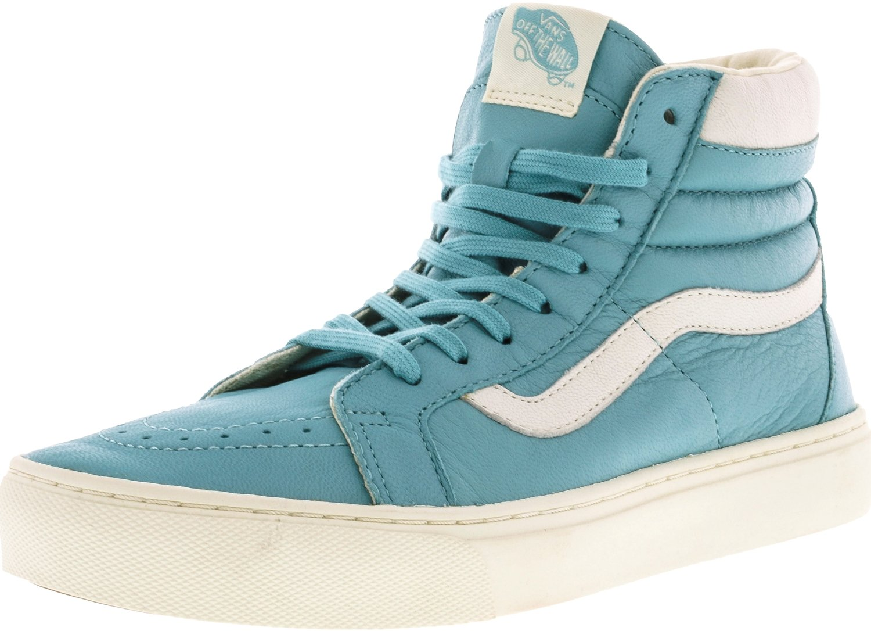 Vans Womens Sk8 Hi Cup Hight Top Lace up Fashion Sneakers B019NIXVHI 5.5 B(M) US|Aqua Sea