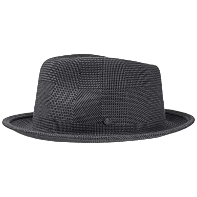 78a75c38d Stetson Virgi Wool Felt Fedora Hat Men Grey L (7 1/4-7 3/8) at ...