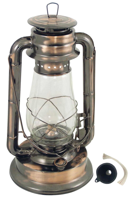 G/én/érique 298 Lampe Temp/ête Acier Bronze Vieilli Vernie