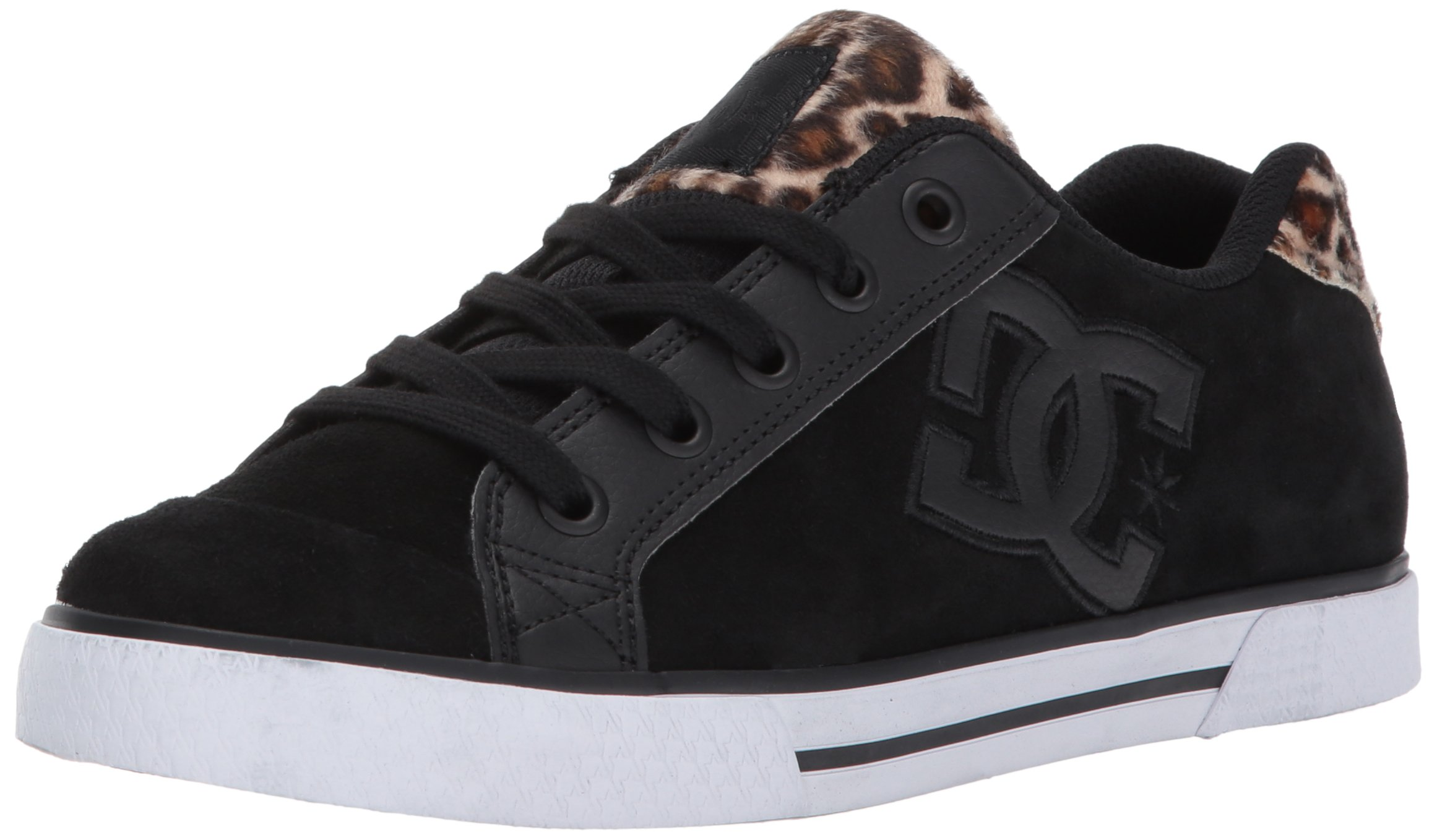 DC Women's Chelsea SE Skate Shoe, Animal, 10.5 B US
