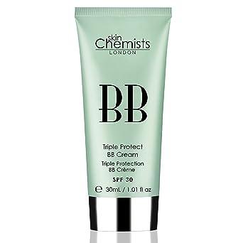 Amazon.com: skinchemists Triple Protección BB Light Crema ...