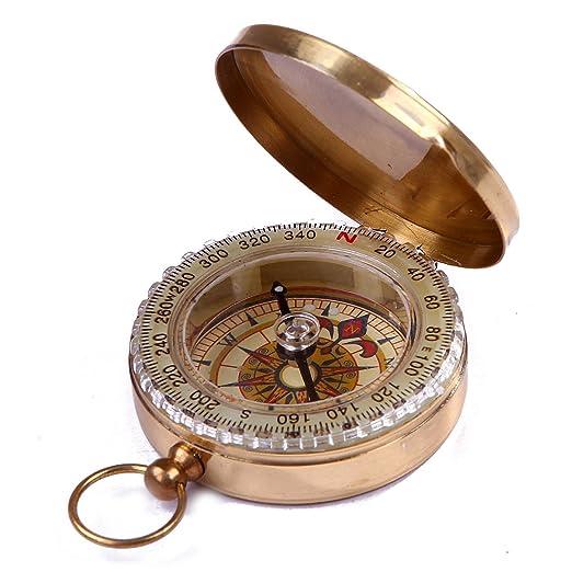 18 opinioni per Tasca stile classico ottone Magnetica tascabile direzionale Bussola per il