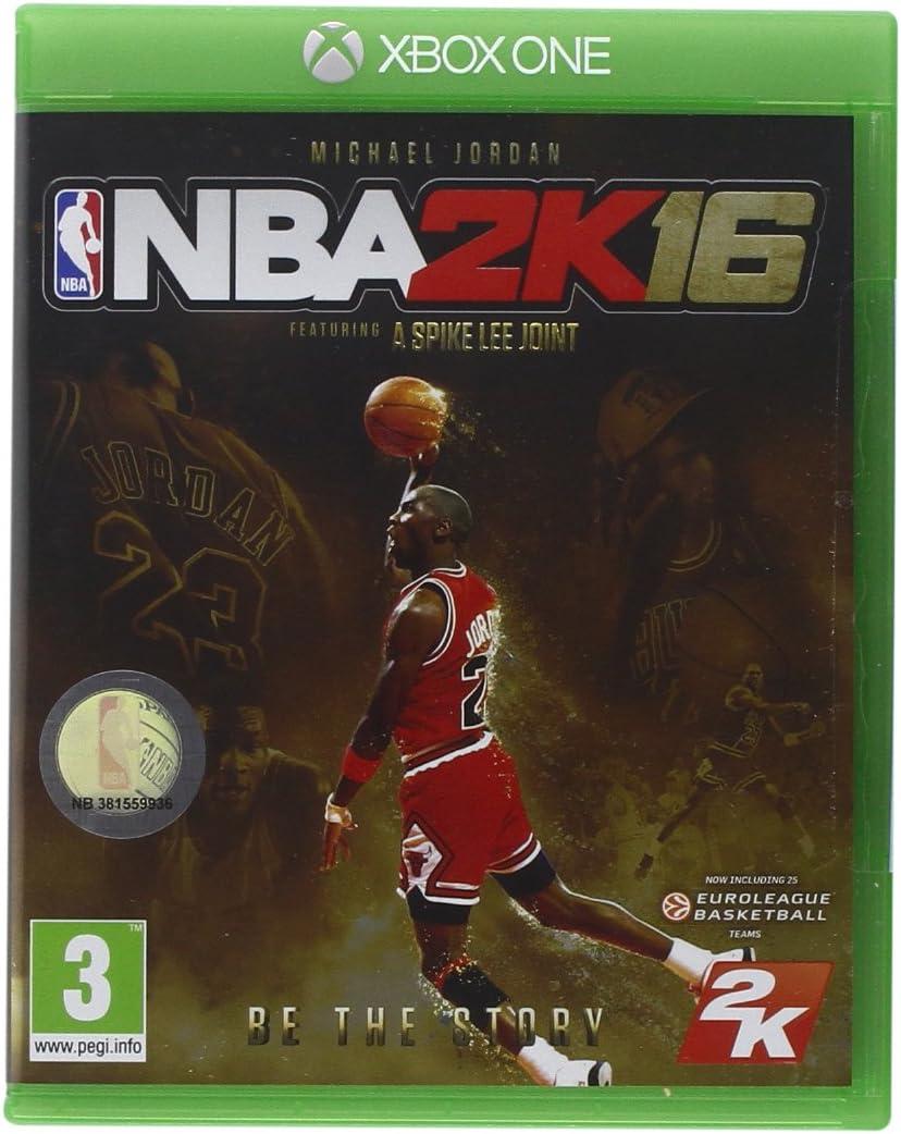 NBA 2K16 - Michael Jordan Special Edition [Importación Italiana]: Amazon.es: Videojuegos