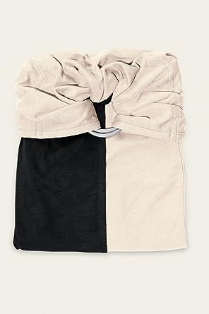 je porte mon bébé Petite Echarpe sans Nœud Noire Ecru  Amazon.fr ... bb906905485