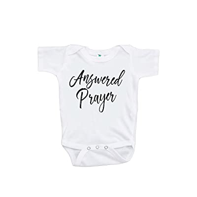 7 ate 9 Apparel Pregnancy Announcement Onepiece - Answered Prayer