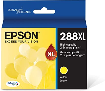 Amazon.com: Epson T288XL420 DURA Ultra Amarillo cartucho de ...