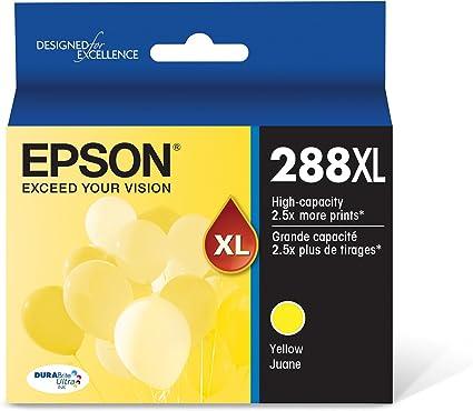 Amazon.com: Epson T288XL420 DURA Ultra Amarillo cartucho de ...