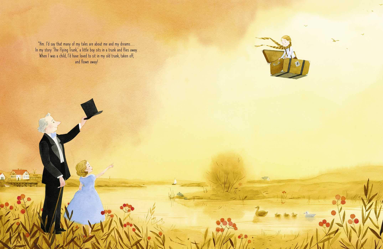 Hans Christian Andersen: The Journey of His Life: Janisch, Heinz, Kastelic,  Maja: 9780735843882: Amazon.com: Books