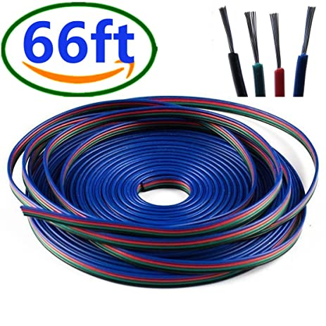 Led Light Strip Extension Cable Electrical Wires, Electrical ...