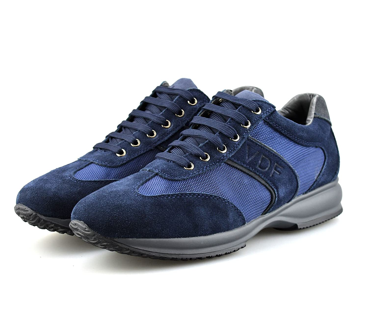 Mens Leather Suede Casual Running Gym Sports Shock Absorbing Trainers Shoes:  Amazon.co.uk: Shoes & Bags