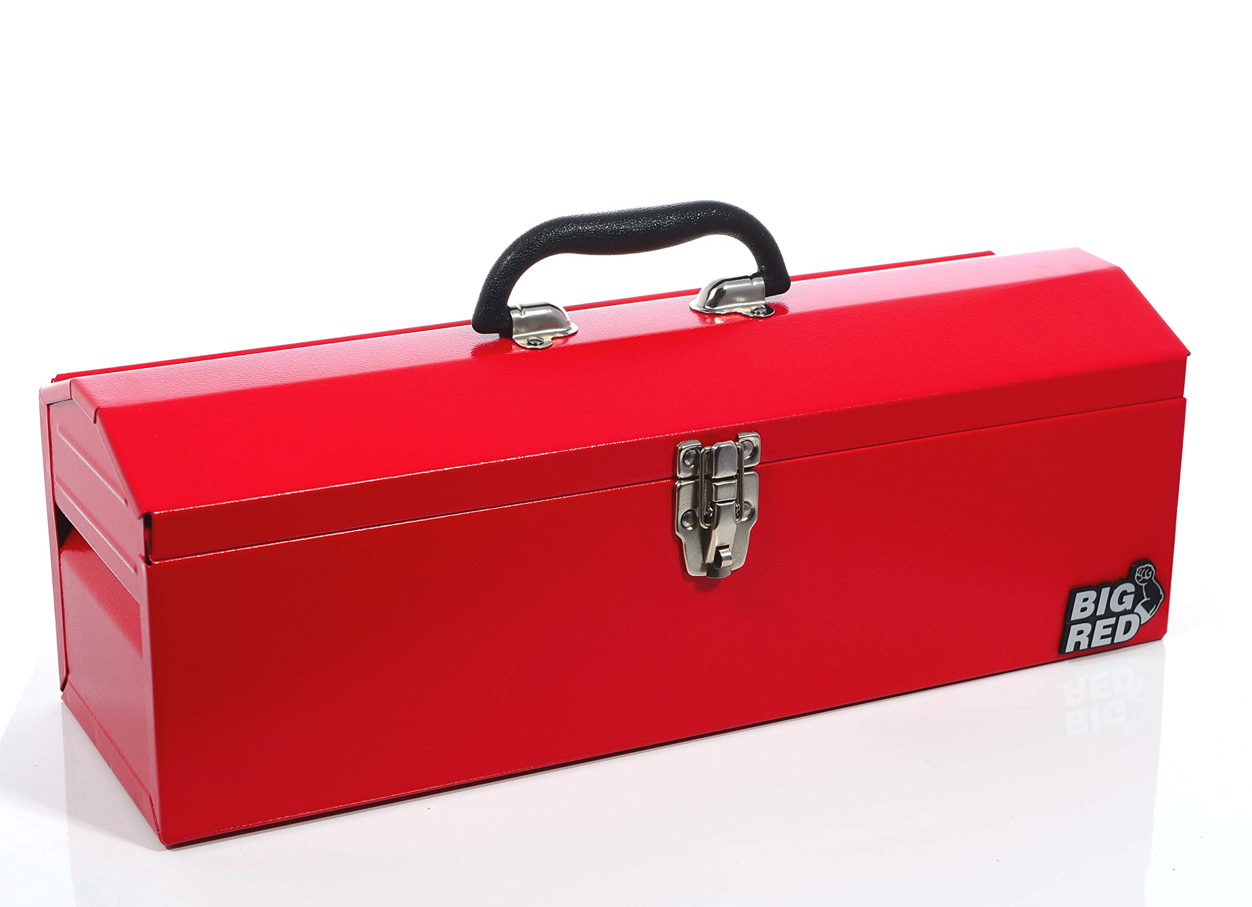 Torin Big Red 19'' Portable Steel Tool Box with Removable Tray, Red by Sherman