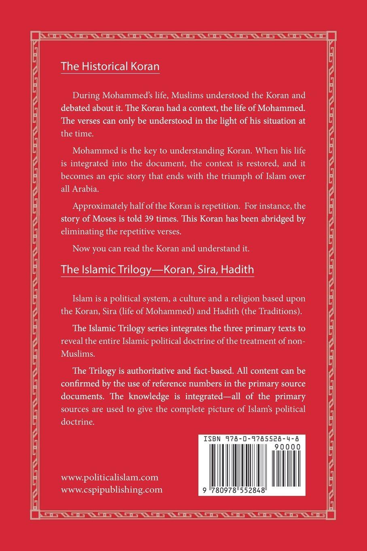 An abridged koran the islamic trilogy bill warner cspi 9780978552848 amazon com books