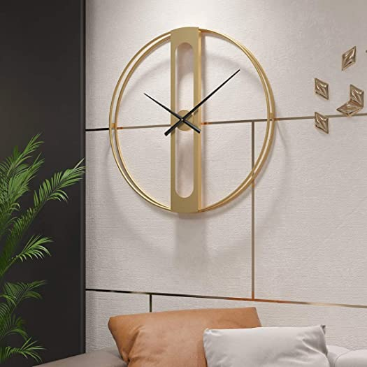 Funtabee London 50cm/20in Modern Minimalist Large Oversized Wall Clock