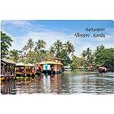 Kerala Backwaters Fridge Magnet