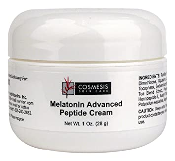 Amazon.com: Cosmesis Life Extension Melatonin Advanced Peptide Cream, 1 Ounce: Beauty