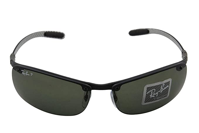 c8d611f754 Ray-Ban Rb8305 Rectangular Polarized Sunglasses 64.4 mm