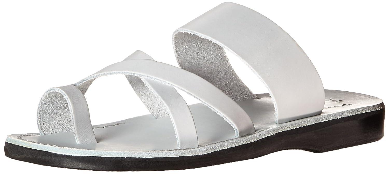 Jerusalem Sandals Men's The Good Shepard Slide Sandal B016QAV10K 47 EU/14-14.5 M US|White