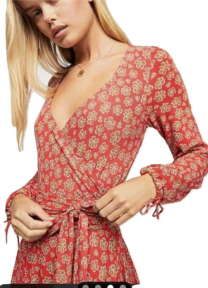 688becf73a33 Free People Women's Pradera Floral Mini Dress, Red Combo, X-Small at Amazon  Women's Clothing store:
