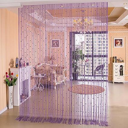 Tende Divisorie Cucina Soggiorno.Tine Home Curtains Cristallo Bead Curtain Solido