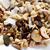 ProMix Chocolate Trail mix: Dark Belgian Chocolate, Coconut, Sun-dried Banana with chopped nuts & seeds. Healthy trail mix. 750g. Gluten Free Snack. Healthy snack.