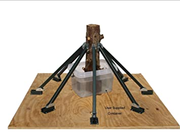 Amazon.com: Heavy Duty 8 Brace Christmas Tree Stand. This New and ...