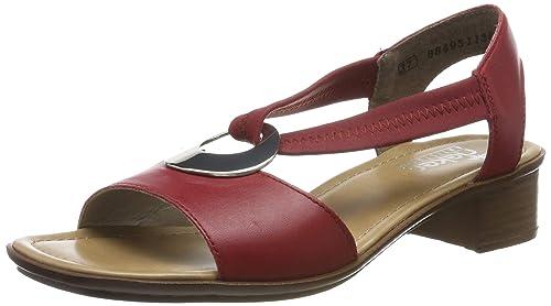 Rieker Damen 62662 33 Geschlossene Sandalen