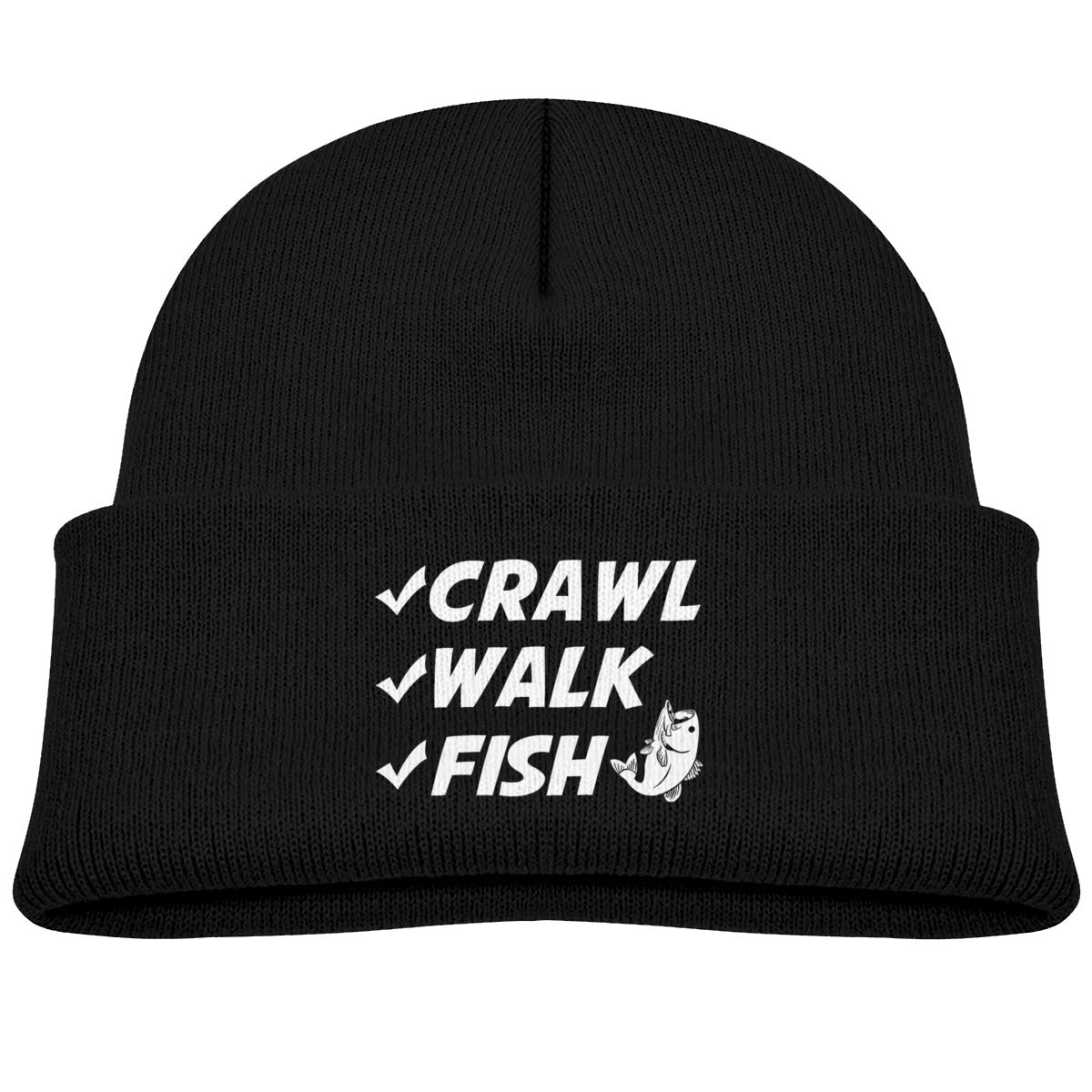 Moniery Crawl Walk Fish Beanie Caps Baby Boy