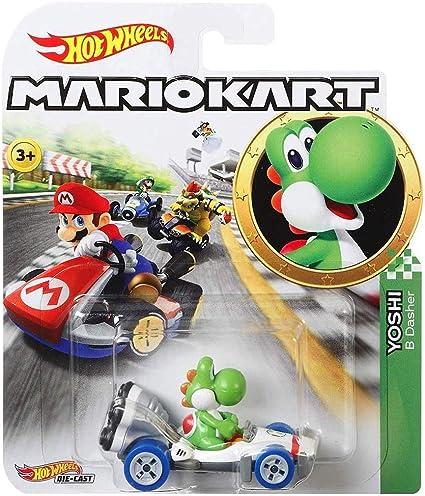 Hotwheels Mario Kart Yoshi