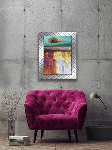 Colorful Contemporary Modern Industrial Inside Abstract Colorful Executive Loft Wall Art u0026quotfloweru0026quot Modern Photo Amazoncom