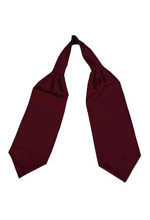 2ffed5f25c7 Remo Sartori Homme Uni Cravate Ascot Foulard