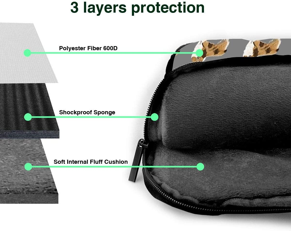 Rough Collie Dog Laptop Carrying Case Multifunctional Work Travel Study Portable Computer Bags